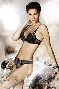 Astrid Hoegsted in lingerie