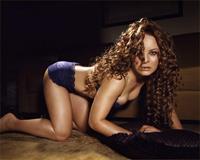 Jenna von Oÿ in lingerie