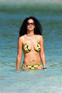 Kimora Lee Simmons in a bikini