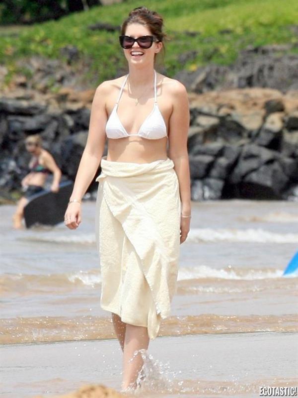 Katherine Schwarzenegger in a bikini