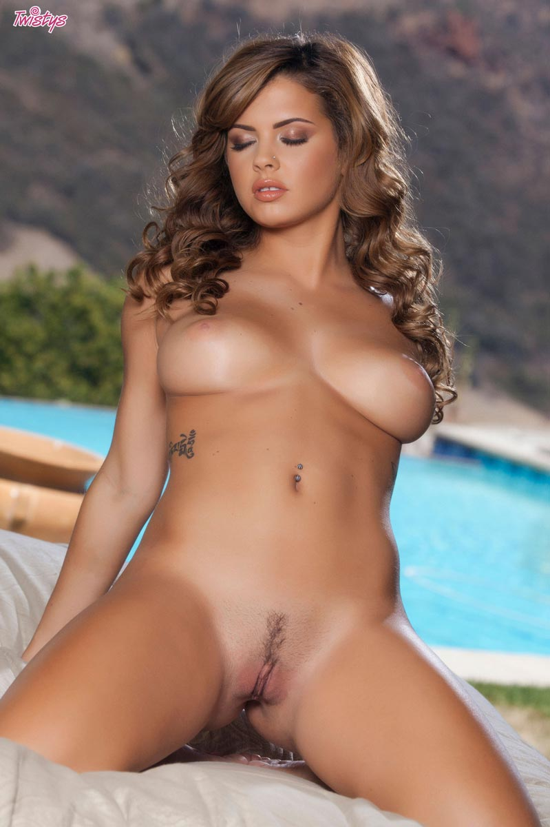 Keisha Grey - pussy and nipples
