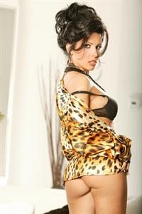 Rebeca Linares in lingerie - ass