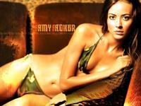 Amy Acker in a bikini