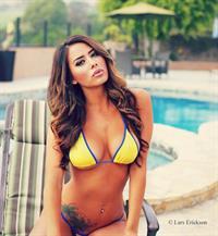 Mariah Longo in a bikini