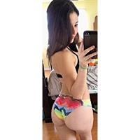 Angie Varona in a bikini taking a selfie and - ass