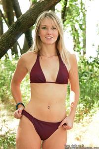 Private School Jewel in a bikini