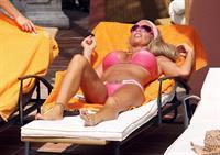 Katie Price in a bikini