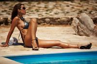 Avia Fenestra in a bikini