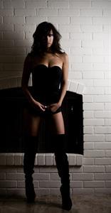 Arika Sato in lingerie