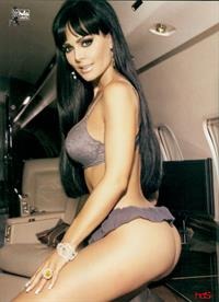 Maribel Guardia in lingerie