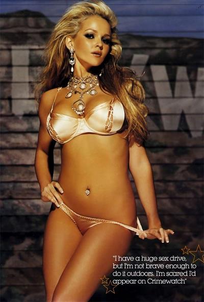 Jennifer Ellison in a bikini