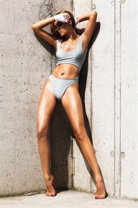 Alexandra Stan in a bikini