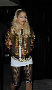 Rita Ora at the Chiltern Firehouse in central London, June 21, 2014