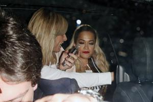 Rita Ora at the Chiltern Firehouse in central London, June 21, 2014
