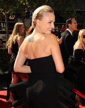Malin Akerman Creative Arts Emmy Awards - Los Angeles, Sep. 15, 2013