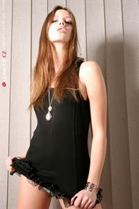 Ester Satorova in lingerie