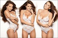 Shelby Chesnes in lingerie