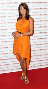 Eva LaRue LA Art Show Opening Night Premiere Party (Jan 23, 2013)