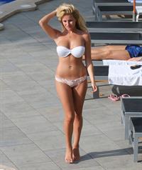 Georgia Kousoulou in a bikini