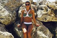Chloe Lewis in a bikini